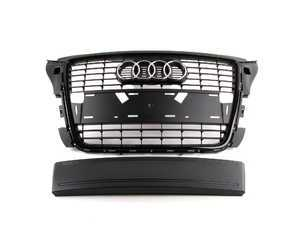 ES#2081170 - 8P4898001 - Blackout Grille Assembly With All Black Plate Filler Kit - Direct bolt on sport grille assembly for your A3 - Genuine Volkswagen Audi - Audi