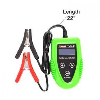 ES#3980654 - OEM24359 - Digital Battery, Charging System, And Starter Analyzer - Do complete testing with this handheld tool. - OEM Tools - Audi BMW Volkswagen Mercedes Benz MINI Porsche