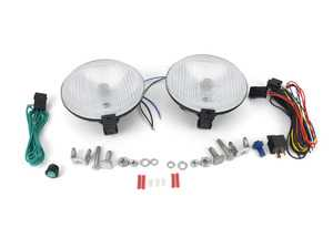 ES#3673458 - 5750971 - Hella 500 Clear Fog Light - 6 1/2 in. Round - Light up the night with Hella fog/rally light - Hella - BMW