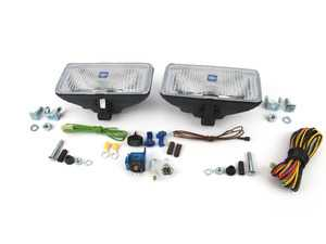 "ES#3673452 - 5700901 - Hella 550 Clear Fog Light Kit - 7 3/4"" x 3 3/4"" Rectangular - Light up the night with Hella fog/rally light - Hella - BMW"
