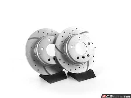 ES#3673005 - 34211162289U - Bavarian Autosport Ultimate Brake Rotor Set - Rear - Couple these with upgraded pads for dramatically improved stopping. - Bavarian Autosport - BMW