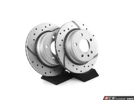ES#3673001 - 34211155501U - Bavarian Autosport Ultimate Brake Rotor Set - Rear - Couple these with upgraded pads for dramatically improved stopping. - Bavarian Autosport - BMW