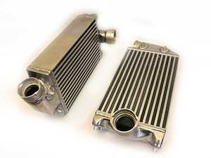 ES#3463654 - AP-996TT-108 - 01-05 996 Turbo / Turbo S / GT2 High Flow Racing Intercoolers - Having proper cooling efficiency is mandatory to maximize your turbo performance - 40% Larger Core Volume over Stock - Agency Power - Porsche