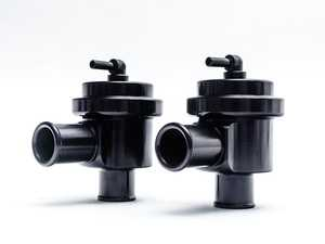 ES#3463657 - AP-996TT-155BK - 996 / 991 / Cayenne / Panamera Turbo Diverter Valve Set  - One of the most important upgrades for you Turbo Porsche - Factory valves are prone to leaking pressure under increased boost when the car has an upgraded - Agency Power - Porsche
