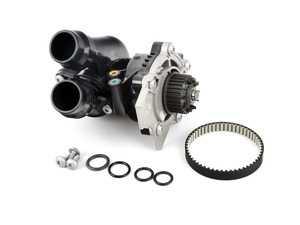 ES#3660661 - 06H121026DD - Water Pump Module - Includes the thermostat, temp sensor, belt, and gasket - Hepu - Audi Volkswagen