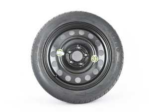 "ES#3970388 - 3611675877813580 - 17"" Emergency Spare Wheel/Tire Set - Includes Genuine BMW 17x4"" ET18 steel wheel with mounted and balanced Kumho 135/80/17 tire. - Assembled By ECS - BMW MINI"