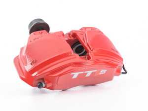 ES#3180412 - 8S0615108H - Front Brake Caliper - Right (Tornado Red) - Restore your stopping power - Genuine Volkswagen Audi - Audi