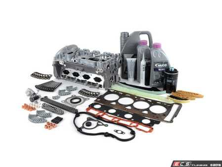 ES#3569531 - 06H103064ACKT2 - Complete Cylinder Head Overhaul Kit - A complete engine overhaul for a case of an unfortunate turn of events, ultimately leading to bent valves - Assembled By ECS - Audi