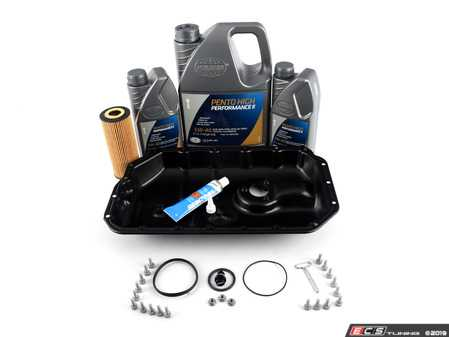 ES#3184321 - 06E103604KKT - Oil Pan Replacement Kit - Everything required to replace your leaking pan, including the oil change - Assembled By ECS - Audi