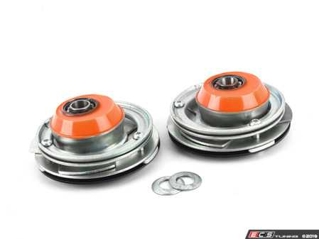 ES#3149831 - 191716-1J - Stage 1 Camber/Caster Plates - Street - Easily adjust front camber and caster for the first time - installs in place of stock strut mounts. Perfect for daily driven stock cars! - KMAC - BMW