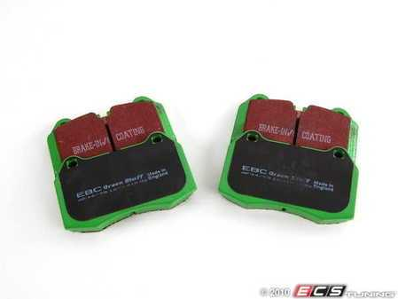 ES#519672 - DP21032 - GreenStuff Performance Brake Pads - Designed as a mildly upgraded pad, great for an afternoon of sporty driving. - EBC - BMW