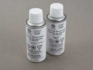"""ES#4313663 - exdllsy9cKT - Ibis White Touch-Up Paint - Priced each - For paint code """"Y9C"""". (4 fl oz) - Genuine Volkswagen Audi - Audi"""