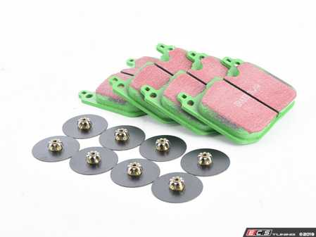 ES#3690628 - DP22271 - EBC GreenStuff Premium Brake Pad Set JCW - Upgrade to EBC pads in your MINI - EBC - MINI