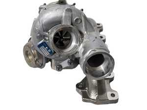 ES#3984503 - 94612302536 - 15-18 Macan Turbo 3.6 Replacement Turbocharger - Right - OE Manufacturer BorgWarner - OE Replacement Part - BorgWarner - Porsche
