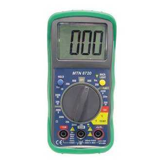 ES#3984640 - MTN8720 - Digital Multimeter With Built In Temperature Readings - Pro Quality at a DIY price - Mountain - Audi BMW Volkswagen Mercedes Benz MINI Porsche