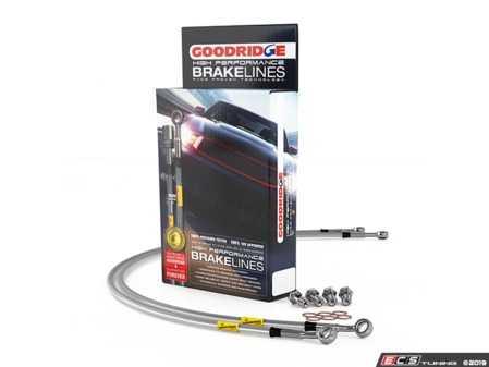 ES#3706493 - 30010 - G-Stop Stainless Steel Brake Line Kit - Front & Rear  - Set of DOT-compliant lines for an improved pedal feel - Goodridge - Audi