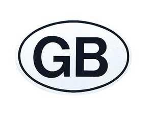 ES#3674620 - MAGOVALGB - Magoval - GB - Great Britain Magnetic oval decal. - Bavarian Autosport - Audi BMW Volkswagen Mercedes Benz MINI Porsche