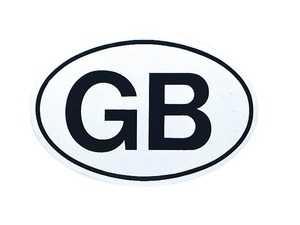ES#3674620 - MAGOVALGB - Magoval - GB - Great Britain Magnetic oval decal. - Bavarian Autosport - Audi BMW Volkswagen Mercedes Benz MINI Porsche