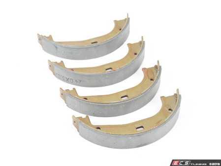 ES#3673020 - 34411160729 - Emergency Brake Shoe Set  - Set of four parking brake shoes - World Brake Resource - BMW
