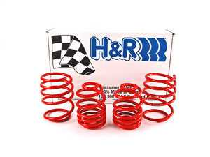 """ES#10800 - 50484-88 - Race Spring Set - Lowers your vehicles while providing a stiffer ride, Average lowering of 1.1""""F 0.9""""R - H&R - BMW"""