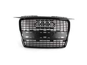 ES#2081106 - 8p4853651avmz - Blackout Grille Assembly - Direct bolt on all black grille for your A3 - Genuine Volkswagen Audi - Audi
