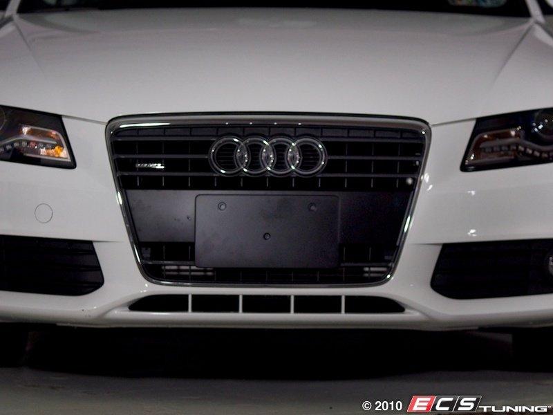 ... ES#1875337 - 8K08072853FZ - Front License Plate Bracket - Matte Black - Keep a. \u2039 \u203a & Genuine Volkswagen Audi - 8K08072853FZ - Front License Plate Bracket ...