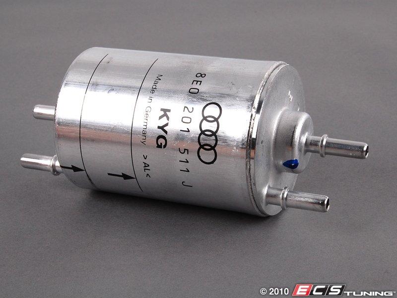 audi b6 a4 quattro 1.8t - 8e0201511j - fuel filter - es#3550 audi q7 fuel filter location 2005 audi a4 fuel filter location