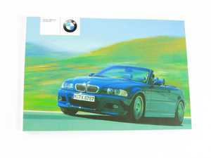 bmw e46 m3 s54 3 2l service manuals page 1 ecs tuning rh ecstuning com bmw e46 owners manual pdf bmw e46 owners manual online