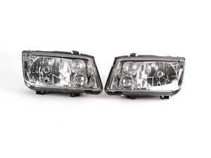 ES#251527 - ZZ1J5998000 - European Headlight Set - Chrome - With fog lights, with clear turn signals - ZiZa -