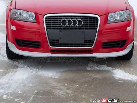ES#4935 - 8P90716099AX - Audi A3 Front Chin Spoiler - Front splitter look chin spoiler from Audi Zubehr - Audi Zubehor - Audi