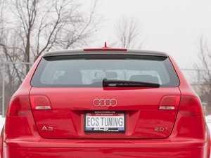 ES#4933 - 8P90716409AX - Audi A3 Roof Edge Spoiler - Clean, sporty looking Audi Zubehr rear upper wing/spoiler - Audi Zubehor - Audi
