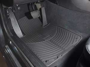ES#196751 - 82550151192 - Front All Weather Rubber Floor Mat Set - Black - Protect your carpet from dirt and moisture! - Genuine BMW - BMW