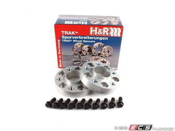 ES#252500 - 60757404 - DRA Series Wheel Spacer - 30mm (1 Pair) - Give your car a new stance - H&R - BMW