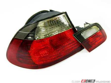 ES#10713 - FKRL88 - Tail Lights - Red/White/Smoke - Euro look tails for your E46 Coupe - FK -