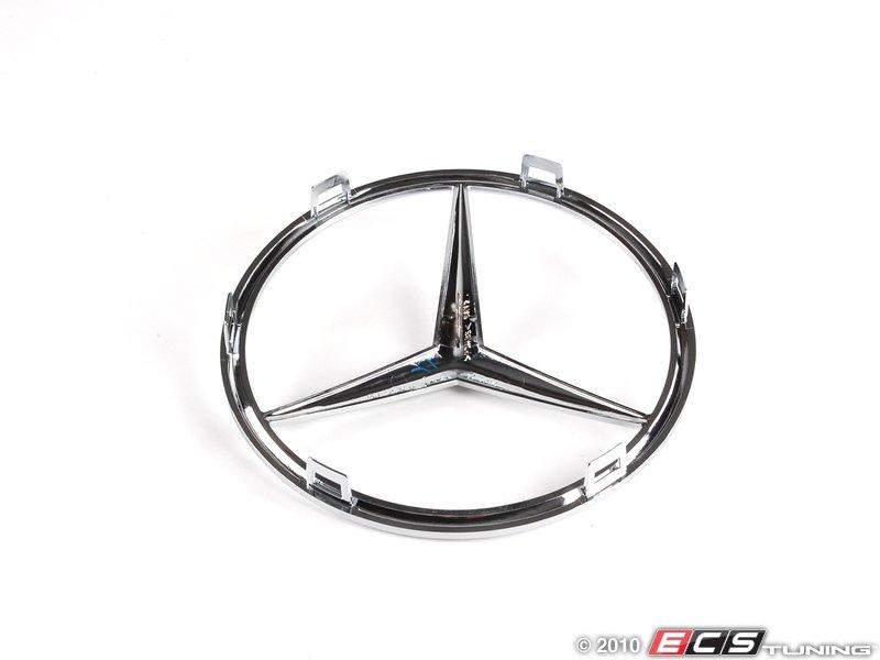 Genuine mercedes benz 2518880086 mercedes benz star emblem for Mercedes benz star emblem