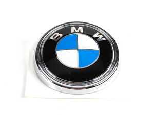ES#79301 - 51147157696 - BMW Emblem / Roundel - Rear - Located on the rear hatch - Genuine BMW - BMW