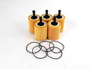 ES#1884373 - 071115562C - Oil Filter - 5 Pack - Stock up for future maintenance - Mann - Audi Volkswagen
