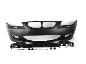 ES#3677268 - E60M5FTPDC - M5 Style Front Bumper - With PDC - A slightly more aggressive styling compared to the M-tech - ECS - BMW