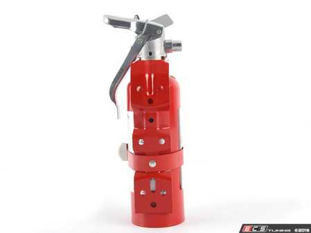 ES#3504981 - MX100R - MaxOut™ Dry Chemical Red Fire Extinguisher - 1 lb. - (NO LONGER AVAILABLE) - Protect your investment with a fire extinguisher that attacks fires involving flammable liquids quickly and safely, with no danger of electric shock. - H3R Performance - Audi BMW Volkswagen Mercedes Benz MINI Porsche