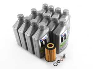 ES#3691257 - 6511800109KT1 - OM651 Sprinter I4 Diesel Oil Change Kit - 5w-30 - Featuring MB 229.52 Approved Mobil 1 ESP - Low-Ash 5w-30 Engine Oil - Genuine Mercedes Benz - Mercedes Benz