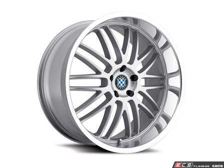 "ES#3984570 - bymesh178s40KT - 17"" Beyern Mesh Square Wheel Set - Silver W/ Mirror Cut Lip - Set your BMW apart with these sport styled Mesh wheels! 17x8"" ET40 5x120 72.56cb - Beyern Wheels - BMW"