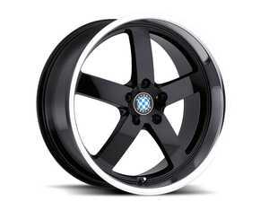 "ES#3985110 - rapp178b35KT - 17"" Beyern Rapp Square Wheel Set - Gloss Black w/ Mirror Cut Lip - Set your BMW apart with these sport styled Rapp wheels! 17x8"" ET35 5x120 72.56cb - Beyern Wheels - BMW"