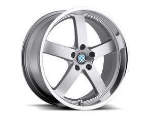"ES#3985108 - rapp178s35KT - 17"" Beyern Rapp Square Wheel Set - Silver w/ Mirror Cut Lip - Set your BMW apart with these sport styled Rapp wheels! 17x8"" ET35 5x120 72.56cb - Beyern Wheels - BMW MINI"