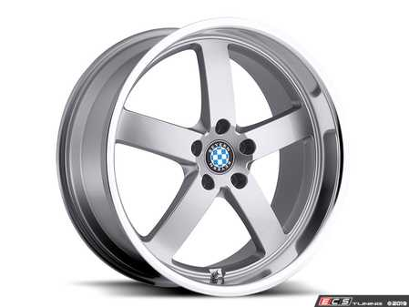 "ES#3988099 - rapp1895s30KT - 18"" Beyern Rapp Square Wheel Set - Silver W/ Mirror Cut Lip - Set your BMW apart with these sport styled Rapp wheels!