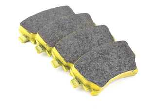 ES#3546224 - 803919 - RSL19 Yellow Endurance Racing Brake Pads - Rear - RSL19 is a low metallic resin bonded material containing steel and acrylic fibers. It maintains a constant friction level across a broad range of temperatures. The friction level of the material maintains constant at a low-medium level. - Pagid Racing - Audi