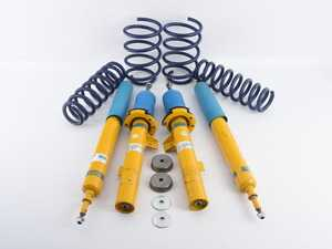 ES#3988129 - 46-180650sd - B12 Pro-Kit Suspension System (w/ H&R Springs) - *Scratch And Dent* - Height adjustable suspension system offering adjustable compression and rebound to dial in for competition, comfort, or anywhere in between. World-famous Bilstein quality with a limited lifetime warranty! - Bilstein - BMW