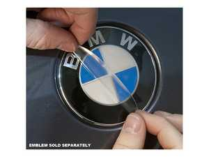 ES#3678540 - es375 - Hood/Trunk Emblem Protective Shield - Don't let your emblem fade! - Bavarian Autosport - BMW