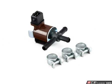 """ES#3971234 - 034906283JKT - Race N75 Wastegate Frequency Control Valve - """"J"""" Revision - The absolute quickest & most inexpensive way of getting more HP out of your 1.8T - Includes Pierburg valve and required clamps - Assembled By ECS - Audi Volkswagen"""