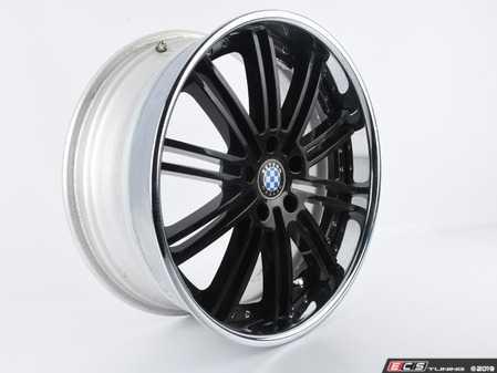 "ES#3675250 - ZZ060.000815 - Beyern Wheel Baroque Style - Black *Scratch and Dent*  - - 20"" x 9"" - ET32 - - Beyern Wheels - BMW"