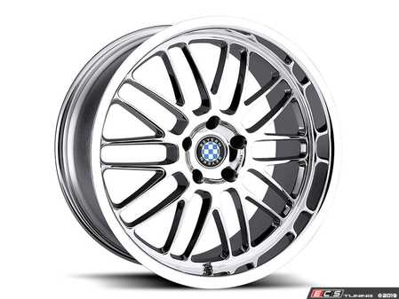"ES#3988278 - bymesh2010c20KT - 20"" Beyern Mesh Square Wheel Set - Chrome - Set your BMW apart with these sport styled Mesh wheels!
